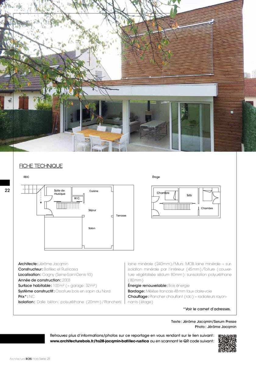 isolation maison 2003