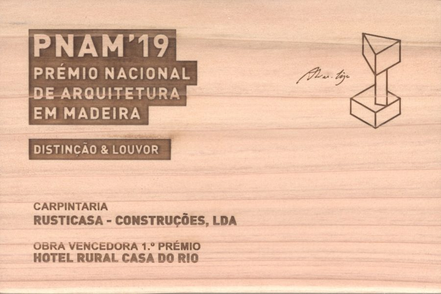 National Award for Wooden Architecture – PNAM'19