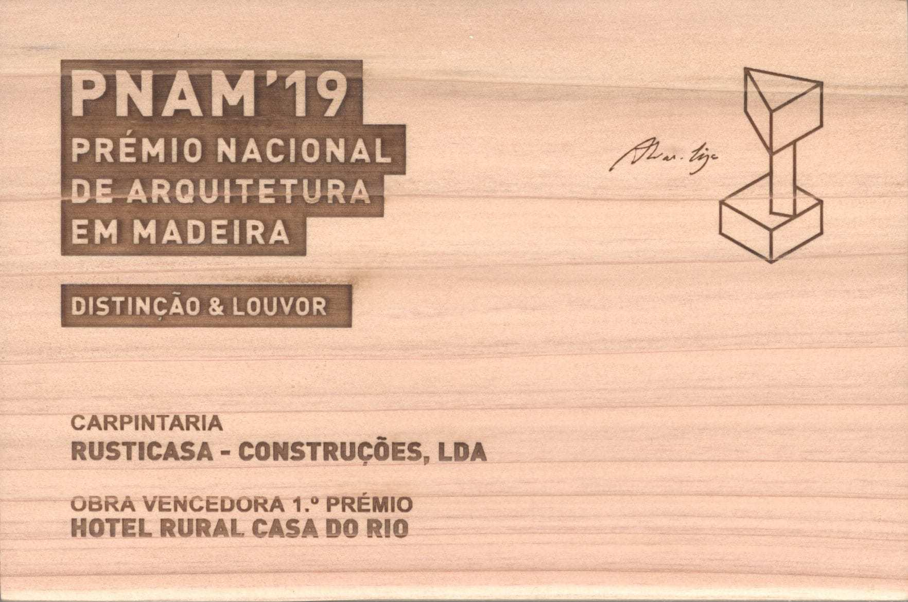Prix National d'Architecture Bois – PNAM'19