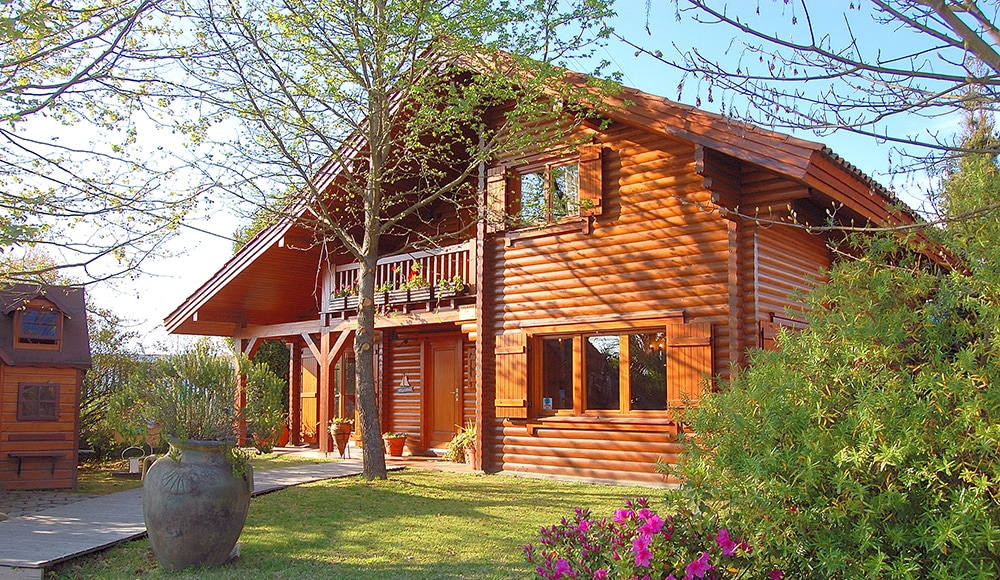 Wooden houses increasingly in demand