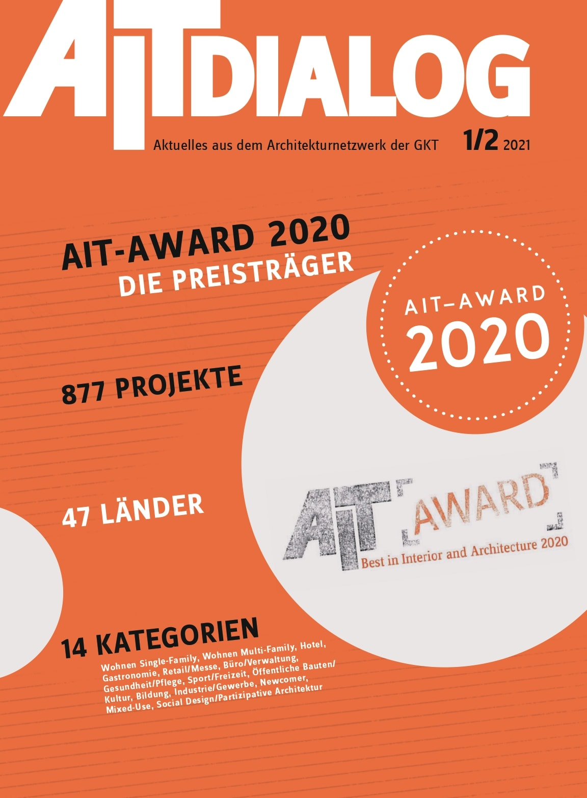 AIT-Award 2020: Publication of award winners